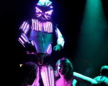Roboter Led show